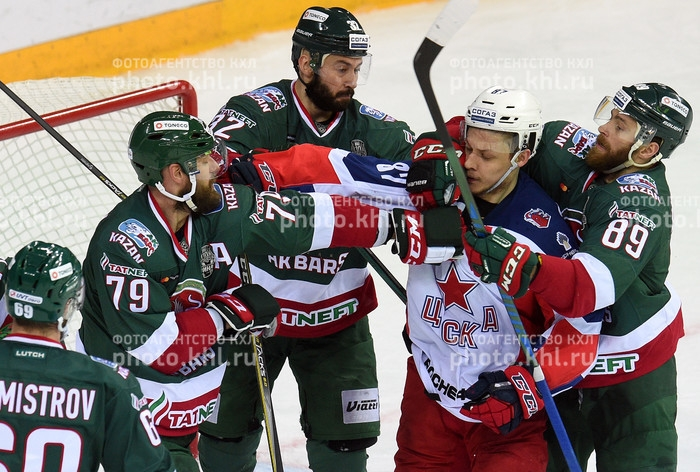 Photo hockey KHL - Kontinental Hockey League - KHL - Kontinental Hockey League - KHL : La tête dans le cosmos