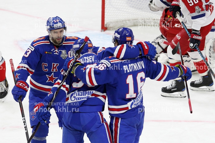 Photo hockey KHL - Kontinental Hockey League - KHL - Kontinental Hockey League - KHL : Le derby se resserre