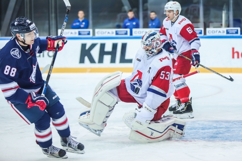 Photo hockey KHL - Kontinental Hockey League - KHL - Kontinental Hockey League - KHL : Sueurs froides