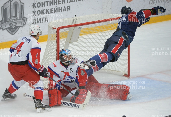 Photo hockey KHL - Kontinental Hockey League - KHL - Kontinental Hockey League - KHL : Victoires décisives