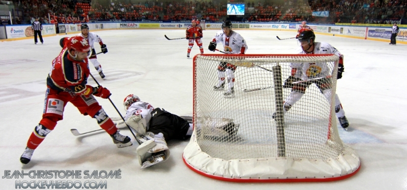 Photo hockey Ligue Magnus -  : Grenoble  vs Chamonix  - Un Grenoble poussif en ouverture !