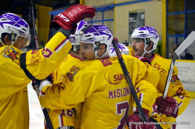 Hockey sur glace ligue magnus coupe de france 1 4 de finale dijon vs amiens et de deux - Finale coupe de france hockey ...