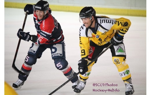 Photo hockey Ligue Magnus - Ligue Magnus : 15ème journée : Angers  vs Rouen - Reportage photos