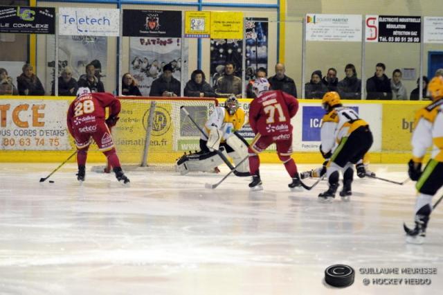 Hockey sur glace ligue magnus ligue magnus 15 me journ e dijon vs str - Etoile noir strasbourg ...