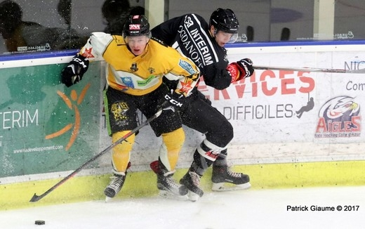 Photo hockey Ligue Magnus - Ligue Magnus : 1ère journée : Nice vs Strasbourg  - Reportage photos