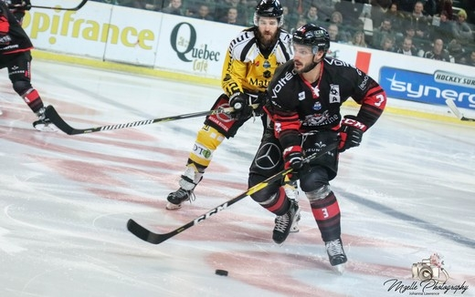 Photo hockey Ligue Magnus - Ligue Magnus : 20ème journée : Bordeaux vs Rouen - Rouen conforte son leadership