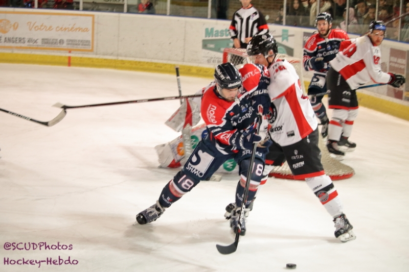 Photo hockey Ligue Magnus - Ligue Magnus : 21ème journée : Angers  vs Mulhouse - Reportage photos