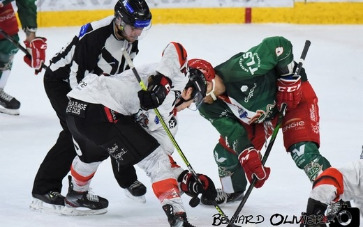 Photo hockey Ligue Magnus - Ligue Magnus : 21ème journée : Cergy-Pontoise vs Bordeaux - Les Boxers croquent les Jokers