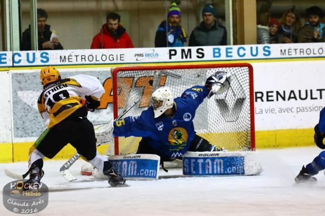 Hockey sur glace ligue magnus ligue magnus 23 me journ e chamonix vs - Etoile noir strasbourg ...