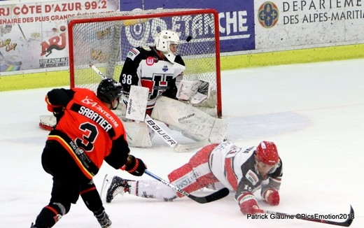 Photo hockey Ligue Magnus - Ligue Magnus : 23ème journée : Nice vs Anglet - Retour en images