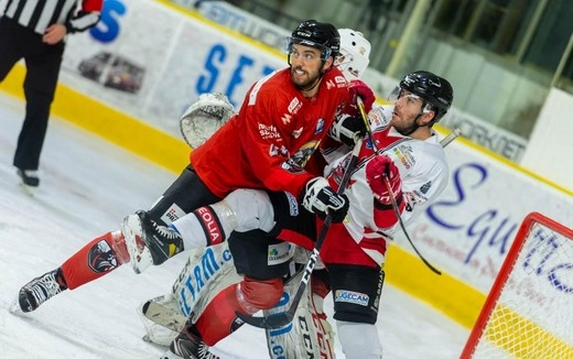 Photo hockey Ligue Magnus - Ligue Magnus : 29ème journée : Chamonix  vs Briançon  - LM : Chamonix s