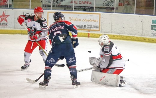 Photo hockey Ligue Magnus - Ligue Magnus : 30ème journée : Angers  vs Anglet - Reportage photos