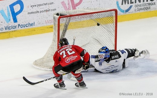 Photo hockey Ligue Magnus - Ligue Magnus : 32ème journée : Amiens  vs Gap  - Amiens s