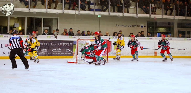 Photo hockey Ligue Magnus - Ligue Magnus : 35ème journée : Anglet vs Rouen - Les Dragons évidemment
