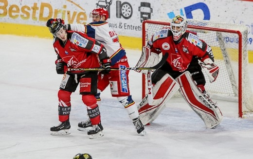 Photo hockey Ligue Magnus - Ligue Magnus : 5ème journée : Amiens  vs Grenoble  - Amiens pousse le leader en prolongation !