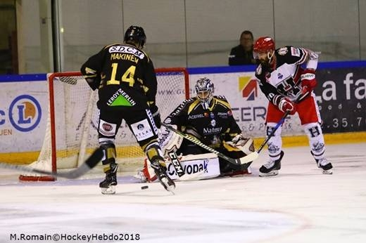 Photo hockey Ligue Magnus - Ligue Magnus : 7ème journée : Rouen vs Anglet - Rouen s'en sort bien