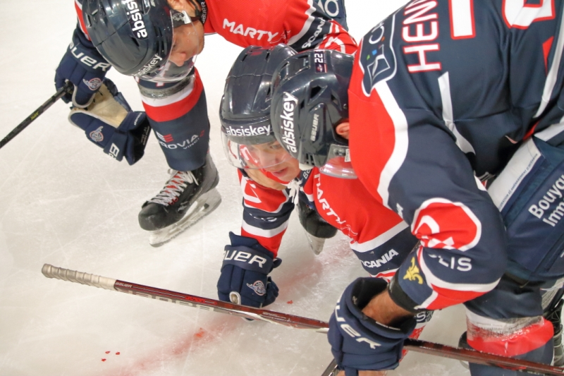 Photo hockey Ligue Magnus - Ligue Magnus : 8ème journée : Angers  vs Strasbourg  - Les Ducs dominent l