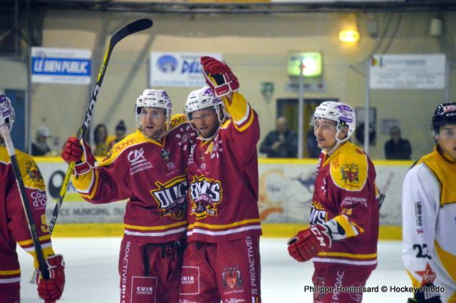 Hockey sur glace ligue magnus ligue magnus 8 me journ e dijon vs stra - Etoile noir strasbourg ...