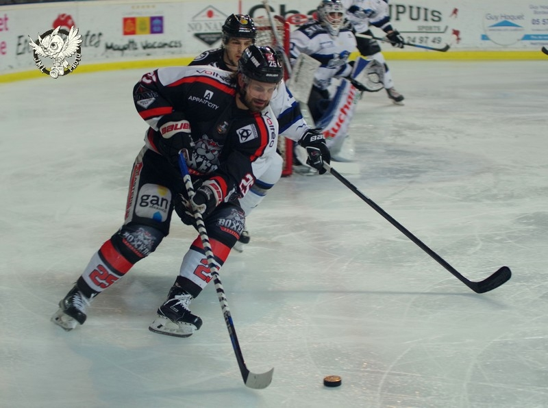 Photo hockey Ligue Magnus - Ligue Magnus : demi-finale, match 3 : Bordeaux vs Gap  - LM : Gap reprend le contrôle !