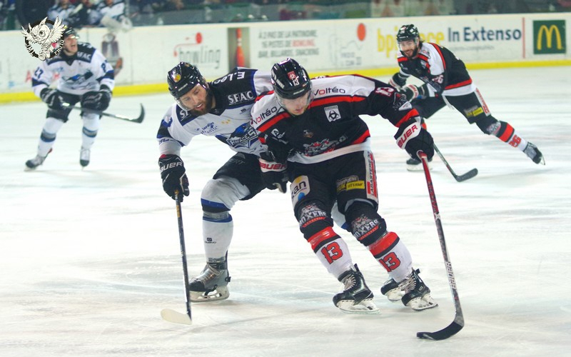 Photo hockey Ligue Magnus - Ligue Magnus : demi-finale, match 4 : Bordeaux vs Gap  - LM : Les Boxers toujours dans la course !