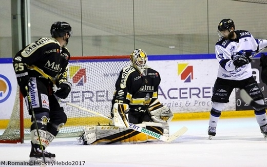 Photo hockey Ligue Magnus - Ligue Magnus : finale, match 3 : Rouen vs Gap  - LM : Rouen prend les devants