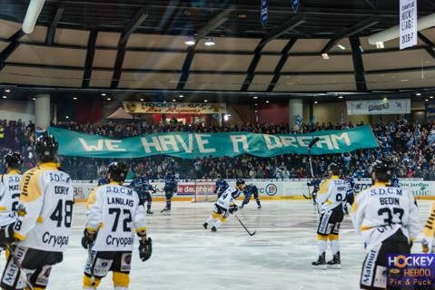 Photo hockey Ligue Magnus - Ligue Magnus : finale, match 5 : Gap  vs Rouen - LM : Gap proche du sacre