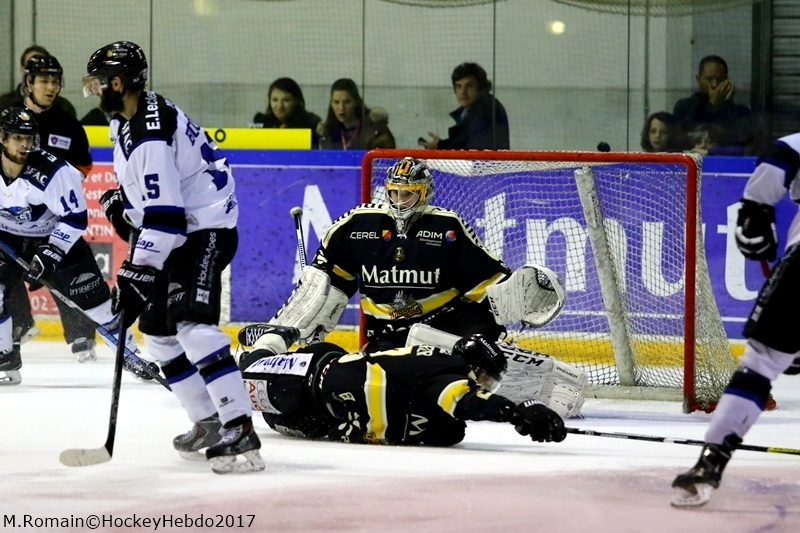 Photo hockey Ligue Magnus - Ligue Magnus : finale, match 6 : Rouen vs Gap  - LM : Gap arrache le titre