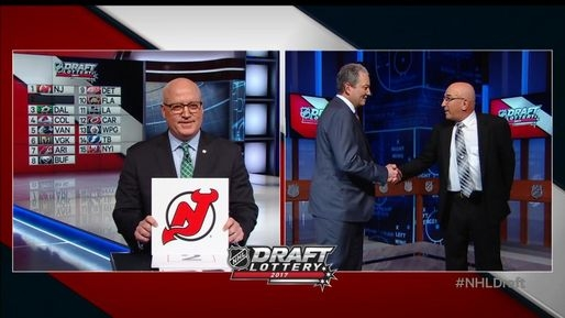 Photo hockey NHL - National Hockey League  - NHL - National Hockey League  - NHL : Les New Jersey Devils remportent la loterie