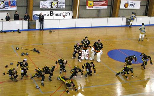 Photo hockey Roller Hockey - Roller Hockey - CDF Roller : Incroyables Griffons !