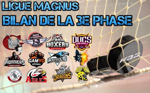 Photo hockey Statistiques - Statistiques - Ligue Magnus: les champions de la 3e phase