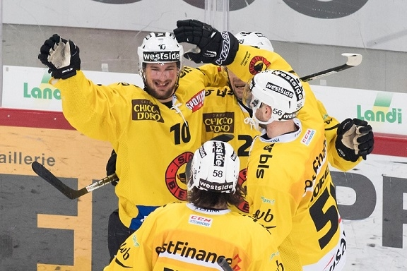 Photo hockey Suisse - National League -  : Bienne vs Bern - Berne reprend ses distances