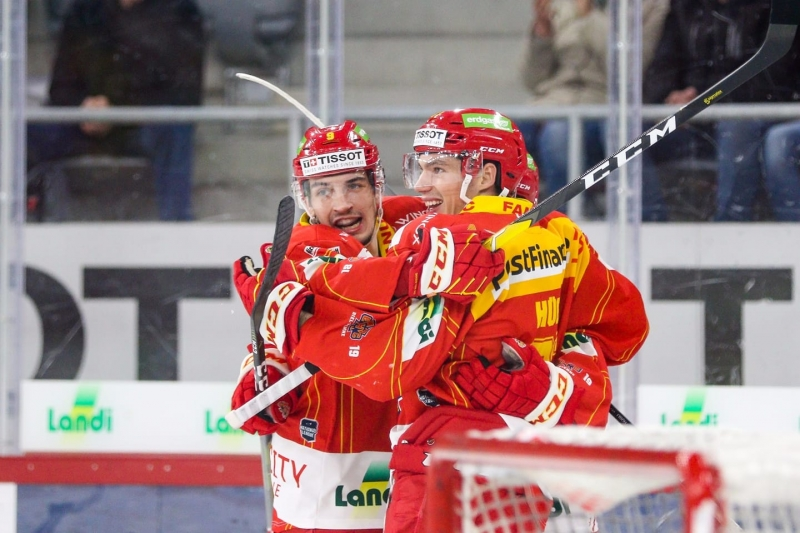 Photo hockey Suisse - National League -  : Bienne vs Lausanne - Au terme d'un match disputé, Bienne domine Lausanne