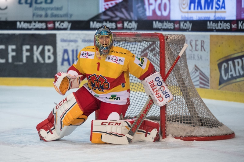 Photo hockey Suisse - National League -  : Bienne vs Lugano - Bienne se réveille trop tard