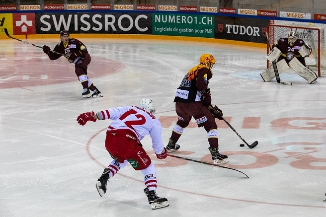 Photo hockey Suisse - National League -  : Genève vs Lausanne - Genève confirme à la maison