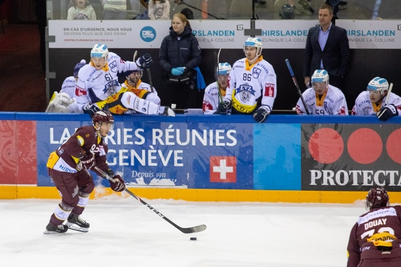 Photo hockey Suisse - National League -  : Genève vs Zug - Servette se prépare aux play-offs