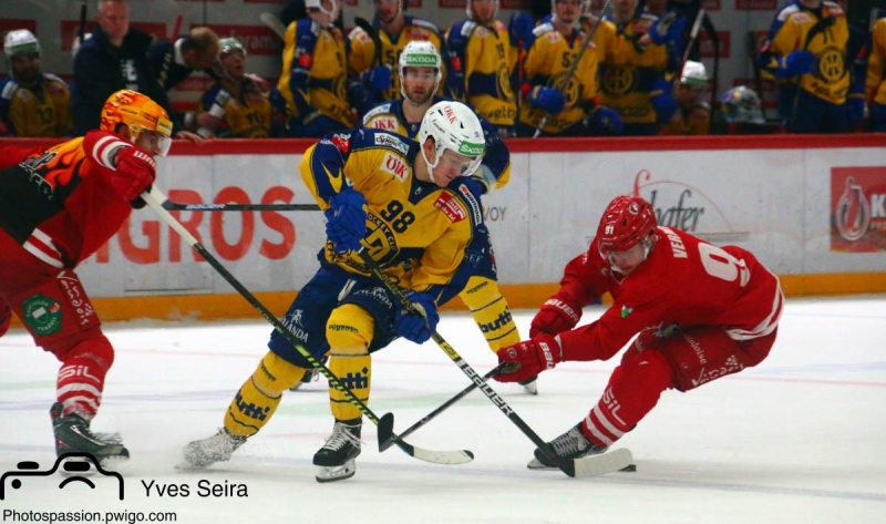 Photo hockey Suisse - National League -  : Lausanne vs Davos - Davos gagne à l
