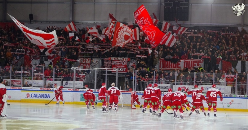 Photo hockey Suisse - National League -  : Lausanne vs Davos - Lausanne cède en prolongations