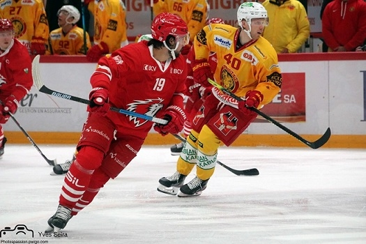 Photo hockey Suisse - National League -  : Lausanne vs Langnau - Jooris et Lions démarrent bien