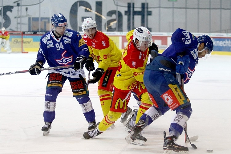 Photo hockey Suisse - Swiss League -  : Kloten vs Sierre - Kloten dans la continuité