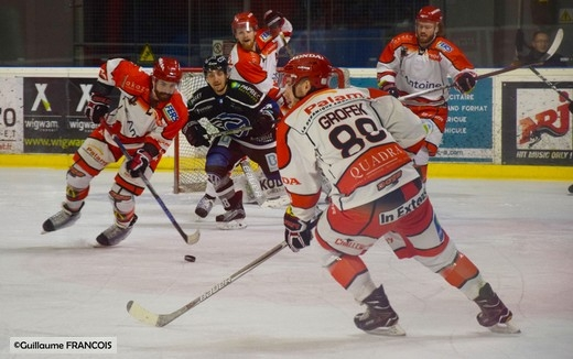 hockey sur glace division 1 division 1 18 me journ e nantes vs cholet nantes remporte. Black Bedroom Furniture Sets. Home Design Ideas