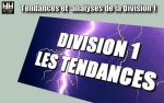 Division 1 - Les tendances Playoffs & Playdowns