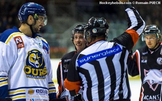 Hockey sur glace : Division 2 - Division 2 : 7ème journée : Toulouse-Blagnac vs Villard-de-Lans - Toulouse s'incline face à Villard - hockeyhebdo Toute l'actualité du hockey sur glace