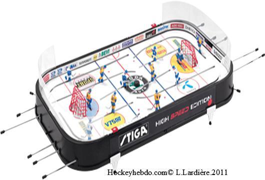 baby foot hockey