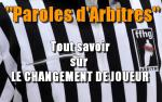 Chronique : Paroles d'arbitres