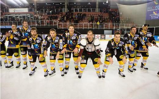 Hockey sur glace coupe de france cf 1 4 strasbourg vs gap l 39 eto - Etoile noir strasbourg ...