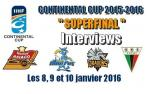Finale Conti Cup J3 Match5 : Interviews Tychy-Asiago