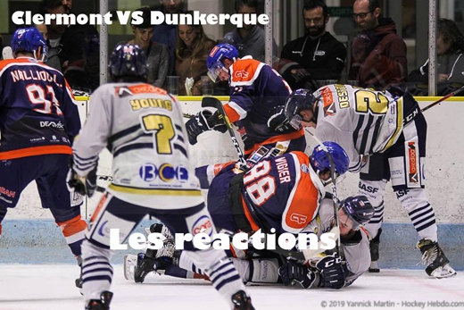 Photo hockey Clermont vs Dunkerque : Réactions - Division 1