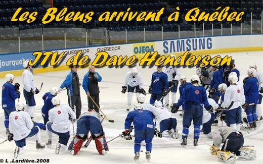 Photo hockey De Québec : Interview de D. Henderson - Equipes de France