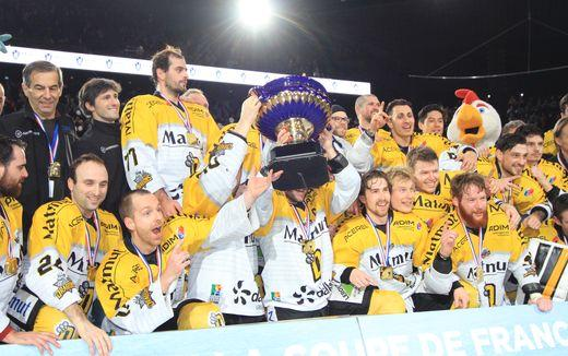 Hockey sur glace finale cdf interviews des rouennais coupe de france rouen les dragons - Finale coupe de france hockey ...