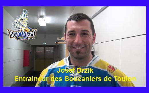 Photo hockey Interview - Josef Drzik Coach des Boucaniers de Toulon - Division 3 : Toulon (Les Boucaniers)